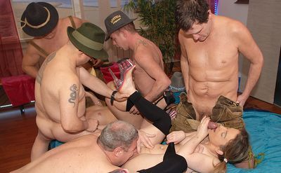 Lederhosen Gangbang password